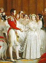 Marriage of Victoria and Albert by Sir George Hayter