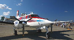 BEECHCRAFT QUEEN AIR B65 JAXA